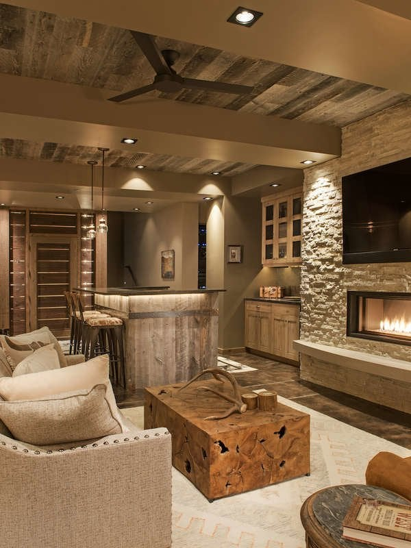 Rich Wood Panelled Rooms: 11 Wood Ceiling Ideas