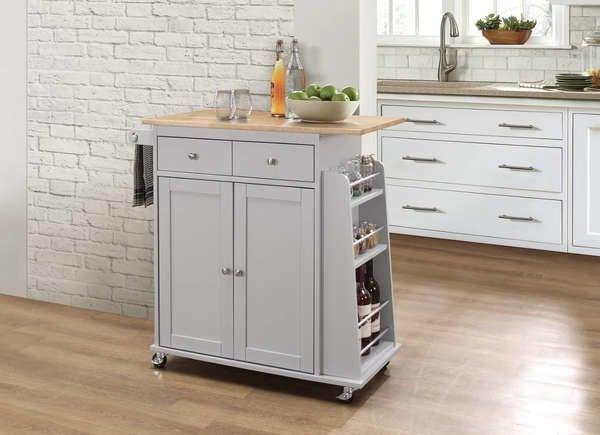 15 small kitchen island ideas that inspire bob vila - Small kitchen island with storage ...