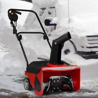 Snowblower red