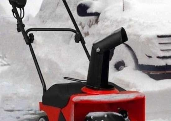 Snowblower red