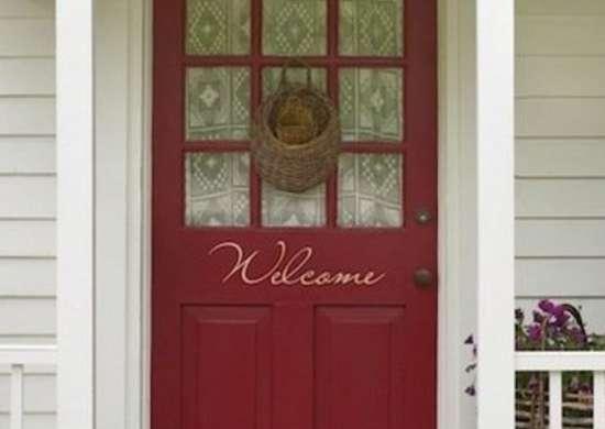 Red front door polkadotthroughts