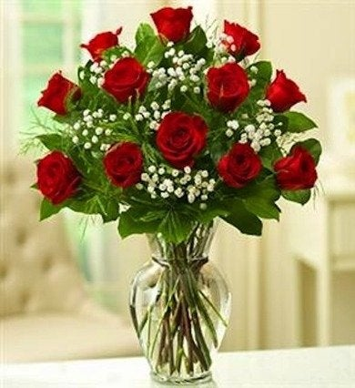 Long_stem_red_roses_in_vase_romansflorist