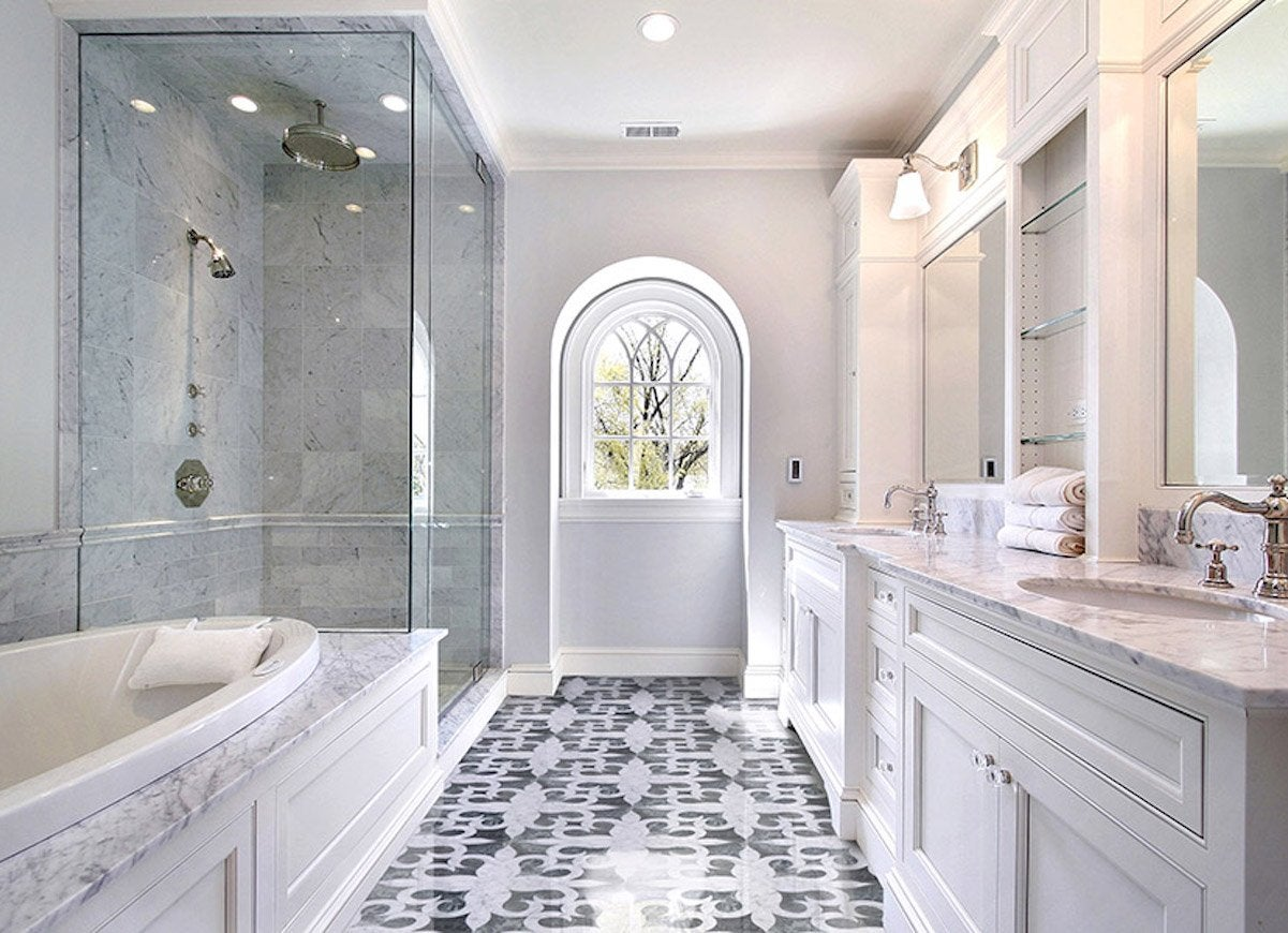 bathroom ceramic tile ideas