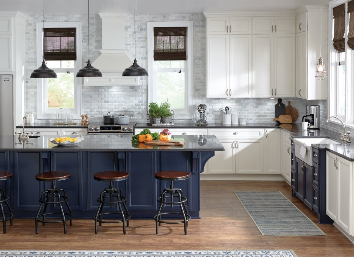 The 14 Freshest Kitchen Cabinet Colors Bob Vila