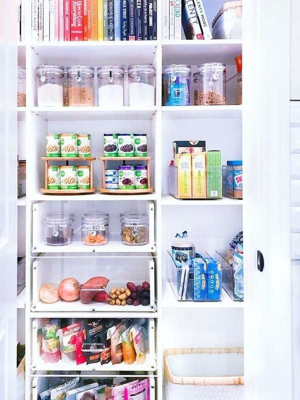 how to organize kitchen pantry - The 30 Easiest Organizing ...