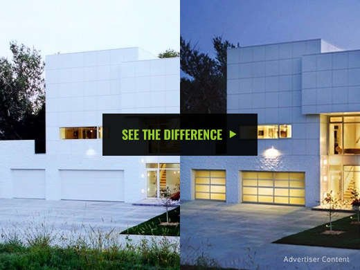 With Its Front And Center Position A New Garage Door Can All But Revolutionize How Your Home Looks From The Curb See Difference