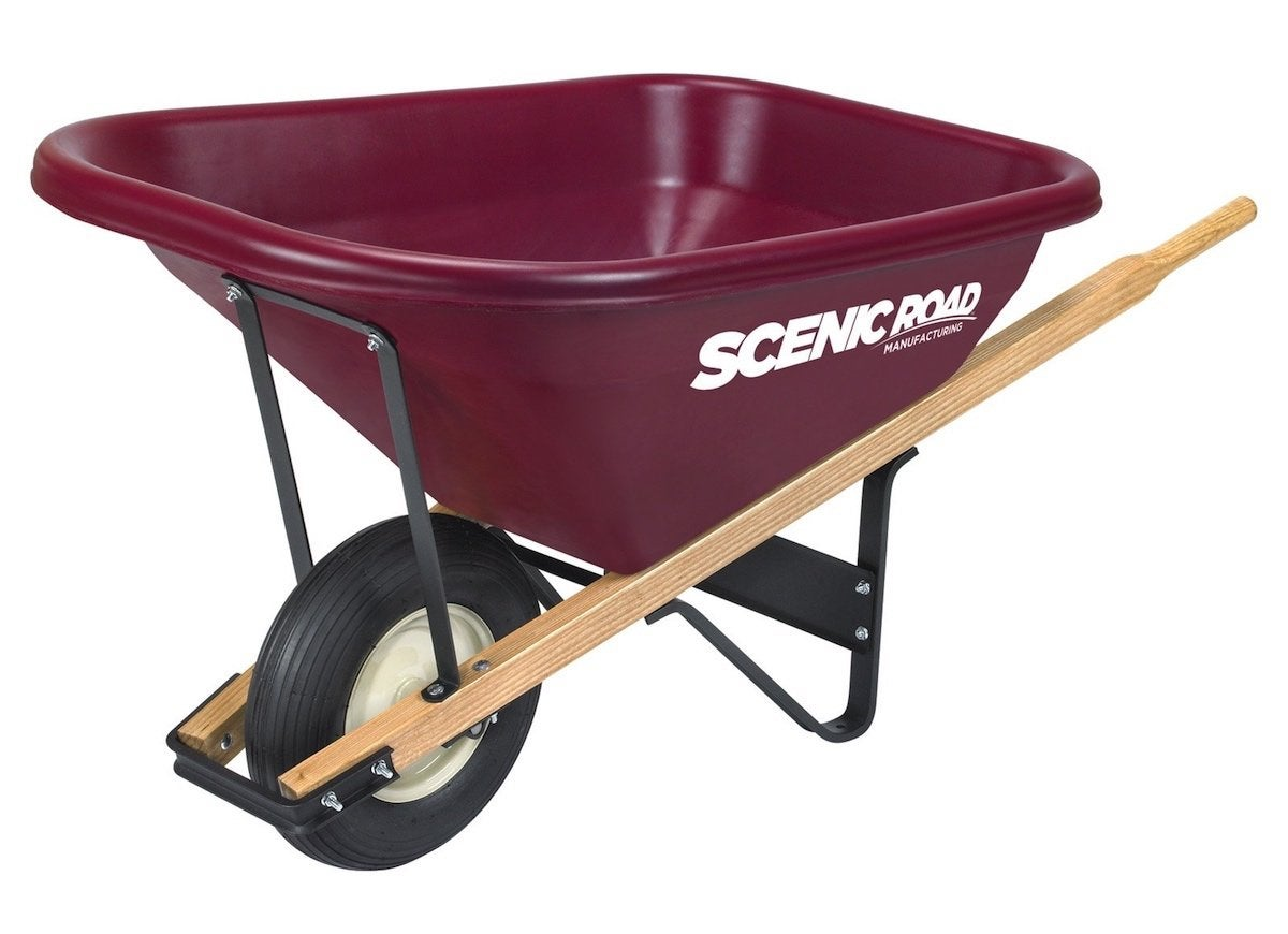 Made in america wheelbarrow