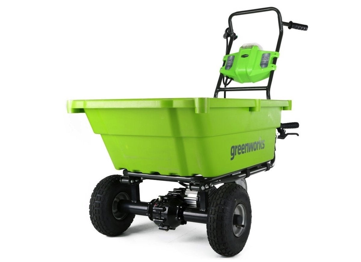 Best powered garden cart