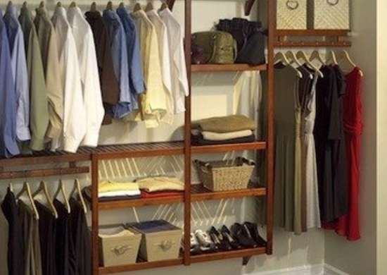 Overstock closet organization storage