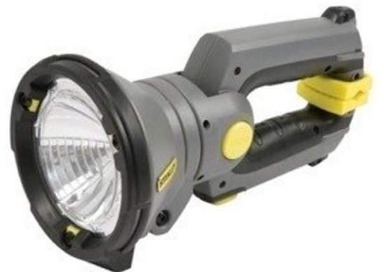 Stanley clamping flashlight