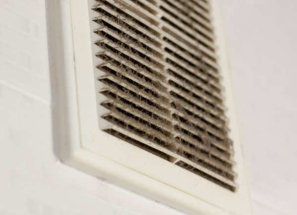 Poor ventilation causes mold