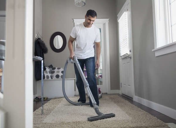 Not vacuuming causes mold