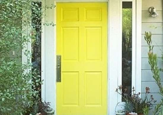 Painted Front Door