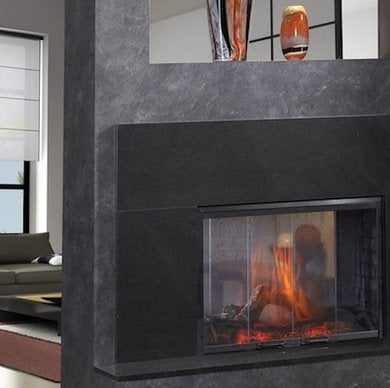 Double Sided Fireplace Best Electric Fireplaces For Home Remodelers Bob Vila