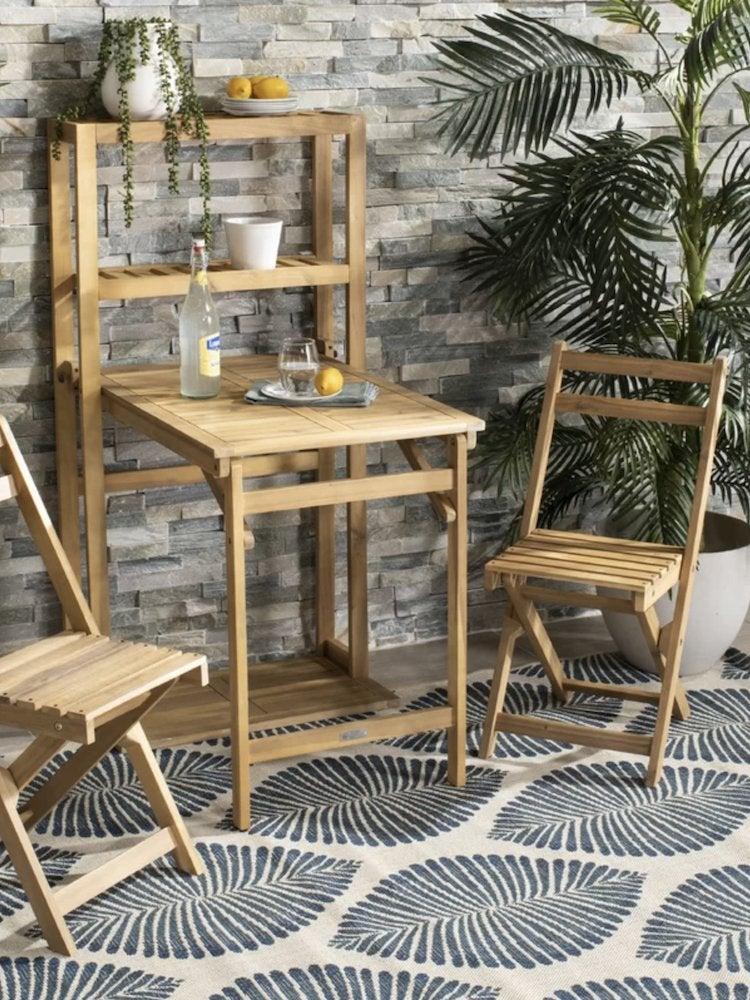 Small Balcony Decor Folding Tables