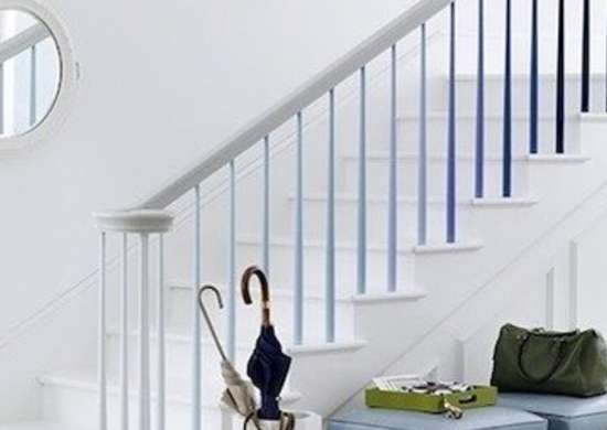 Kevin sharkey april 2011 blue stairs marthastewart