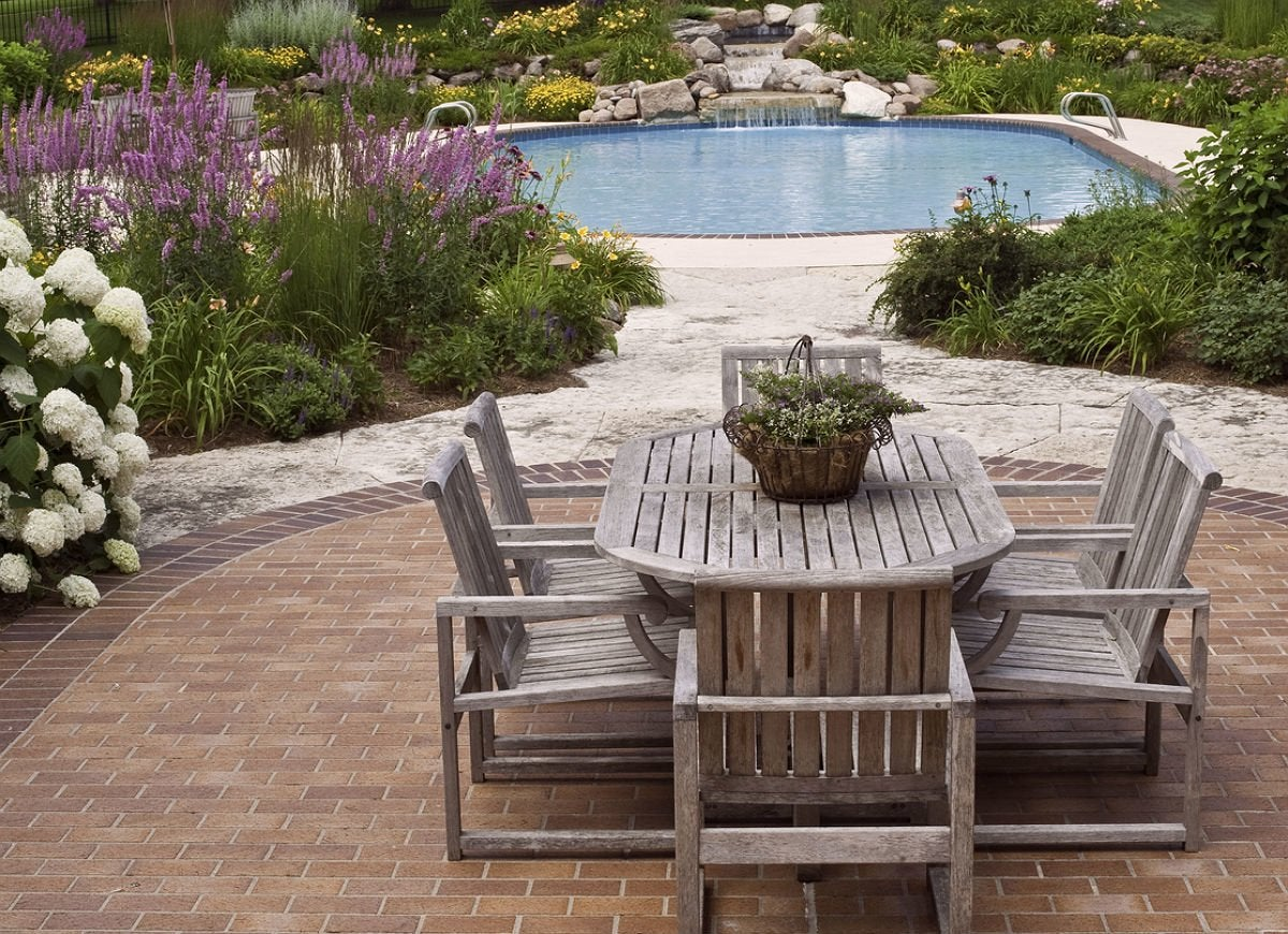 9 Brick Patio Ideas for a Beautiful Backyard | Bob Vila ... on Small Backyard Brick Patio Ideas id=78358