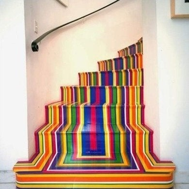 Painted Stairs 10 Home Design Inspirations Bob Vila