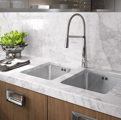 Carrara marble countertop granitegurus