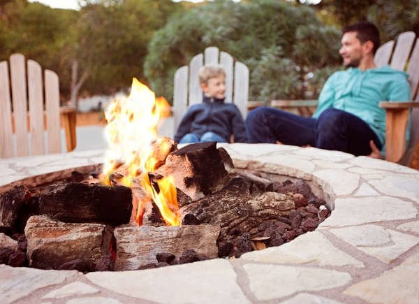 Keep Chairs Away from the Fire Pit