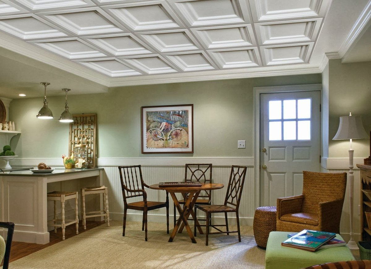 10 Drop Ceiling Ideas To Dress Up Any Room Bob Vila