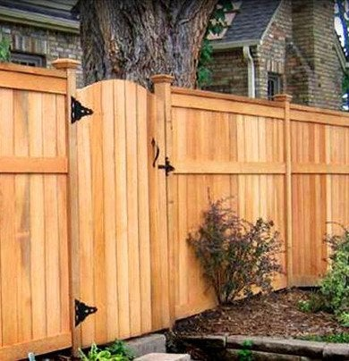 Red cedar fence dynamicfrenceraleigh