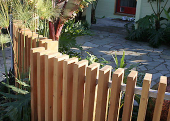Cedar wood fence fencesdeckandpatios