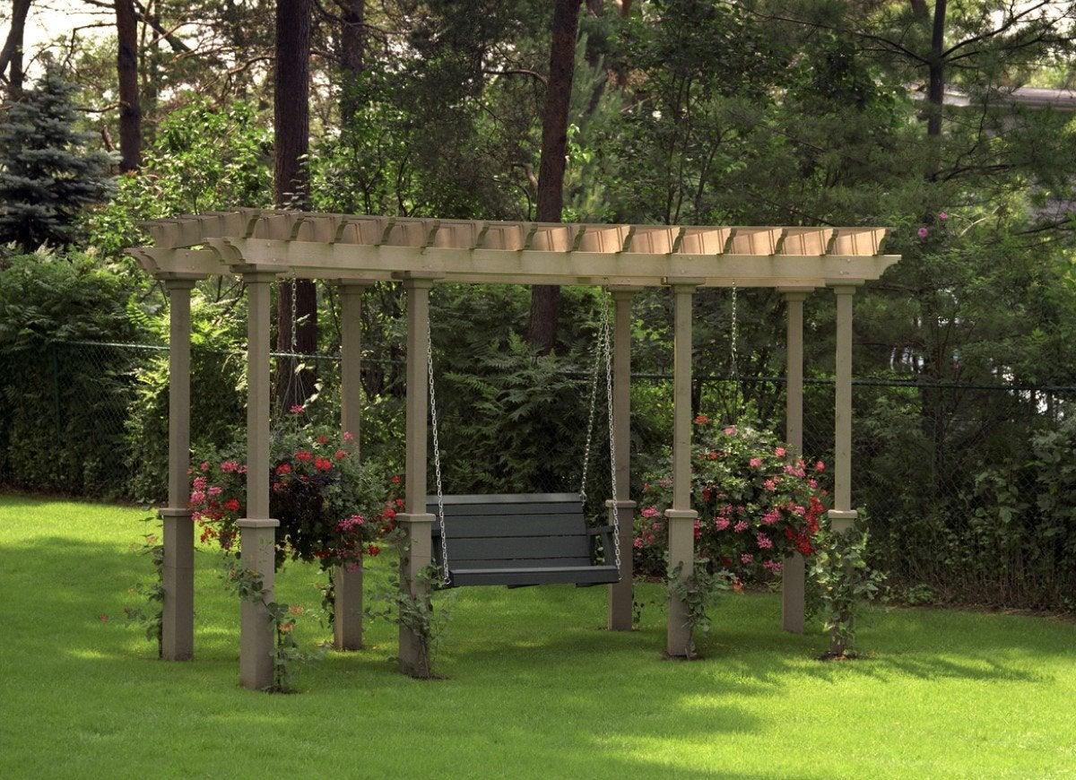 13 Beautiful Ways To Use A Backyard Pergola Bob Vila