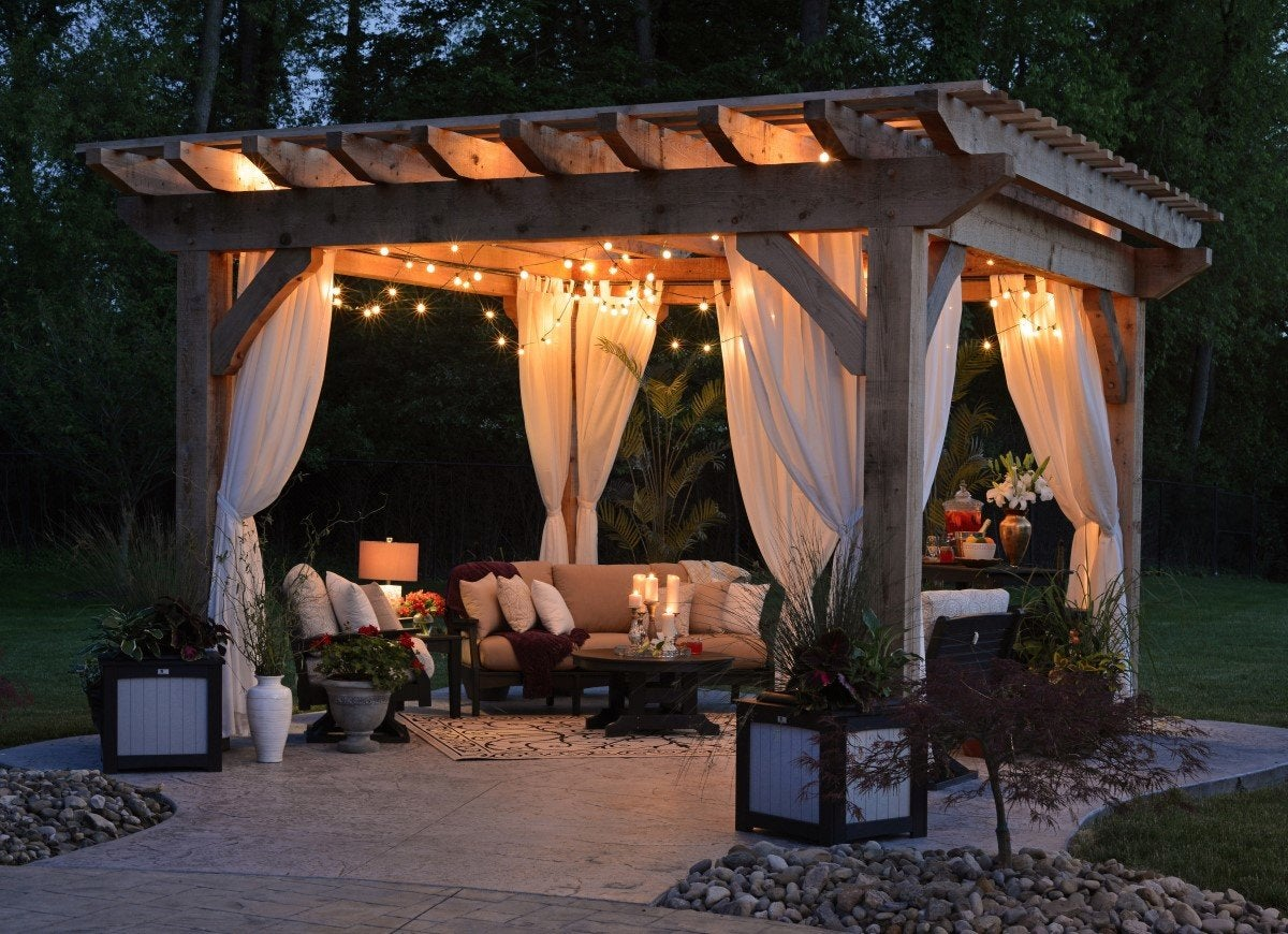13 Beautiful Ways To Use A Backyard Pergola Bob Vila