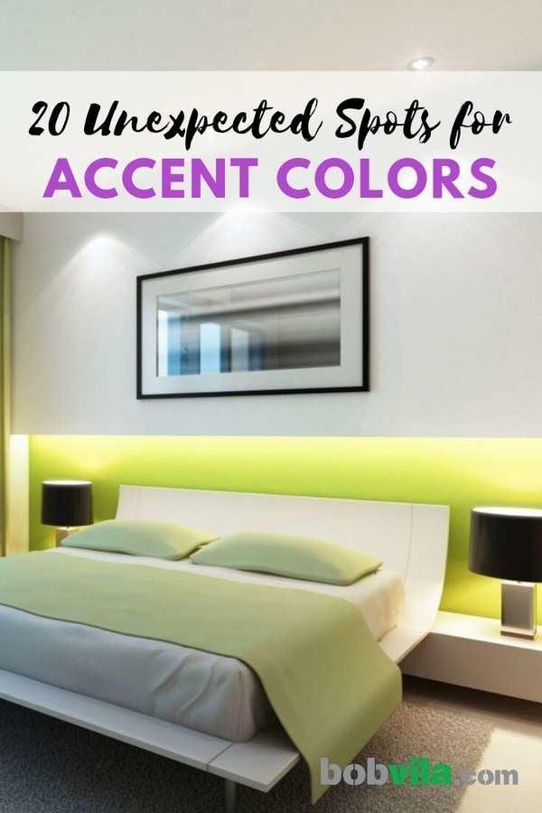 Accent Color 20 Unexpected Spots To Paint Yours Bob Vila