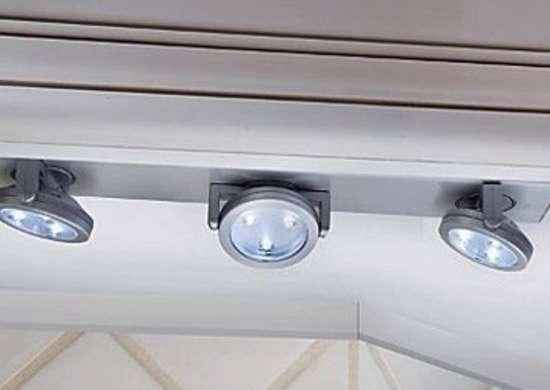 Under-Cabinet Track Lighting