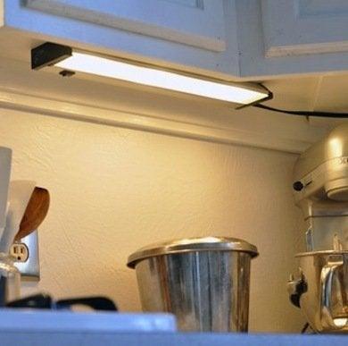 Under cabinet lighting7