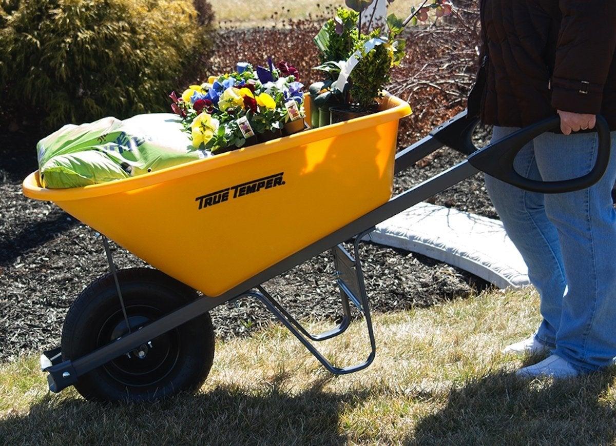 Best wheelbarrow true temper total control
