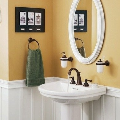 Moen wroughtiron bathroomsinkfaucet accessories