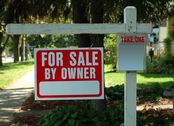 For sale by owner red flag in home buying