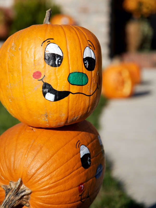 Painted Pumpkins , 30 Easy Projects to Perk Up Your