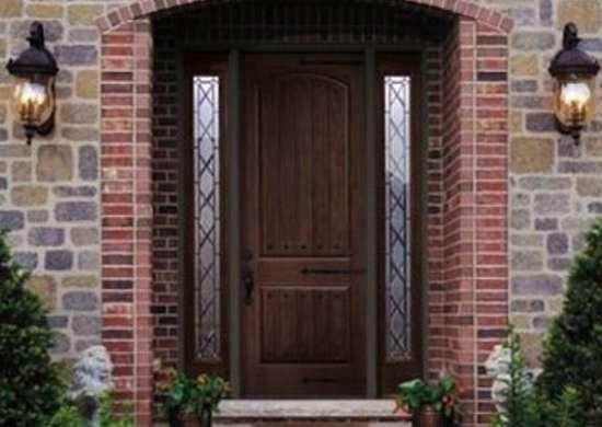 Custom Fiberglass Door