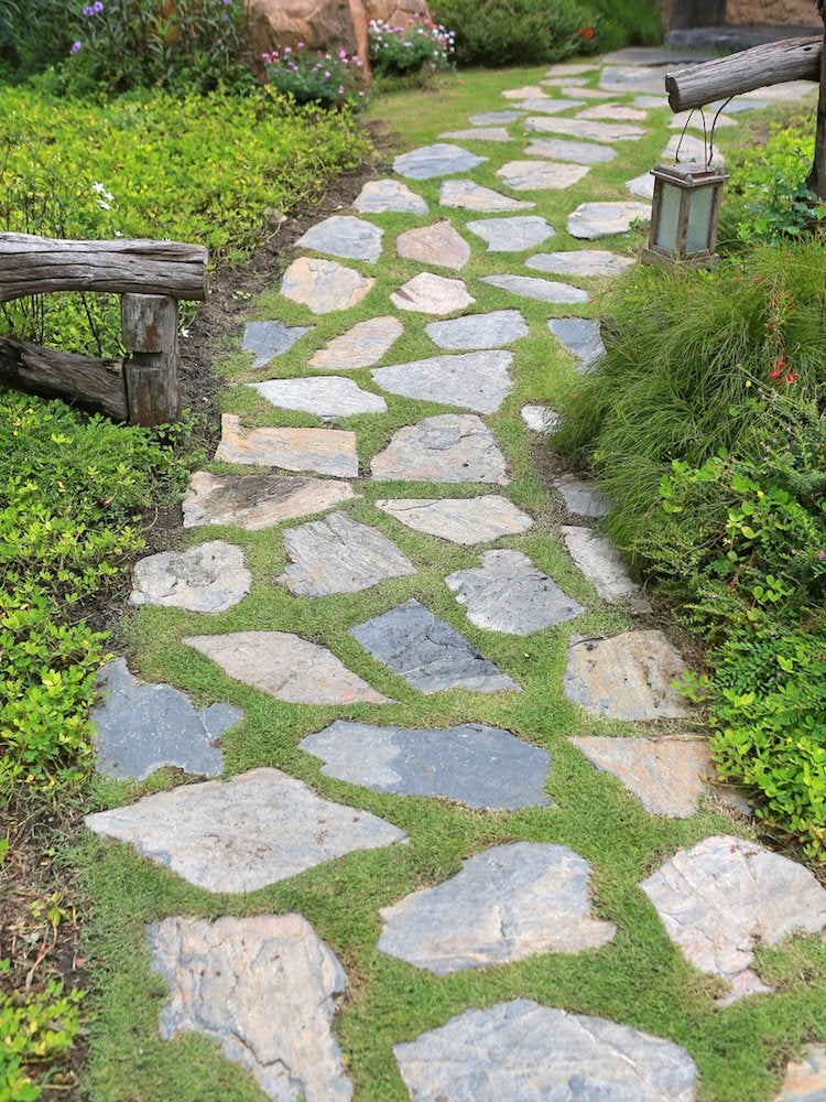 stepping stones walkway ideas - Garden Path Ideas