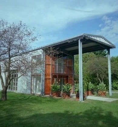 Container homes 10 innovative examples of shipping container architecture bob vila - Benefits of shipping container homes ...