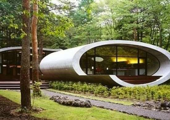 Shell House - Organic Architecture - 12 Homes Inspired By Nature
