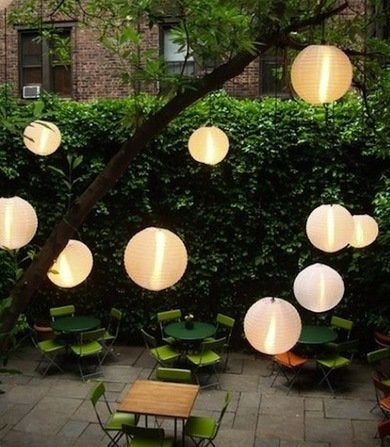 japanese lanterns outdoor lighting arcadianlighting backyard lighting ideas