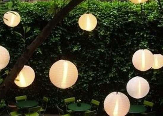 Japanese Lanterns Backyard Lighting 14 Bright Ideas