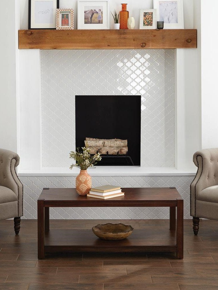 14 Fresh Designs For Tiled Fireplaces Bob Vila Bob Vila