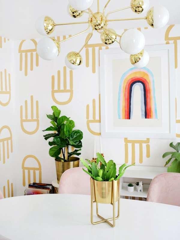 12 Painted Walls That Look Like Wallpaper Bob Vila