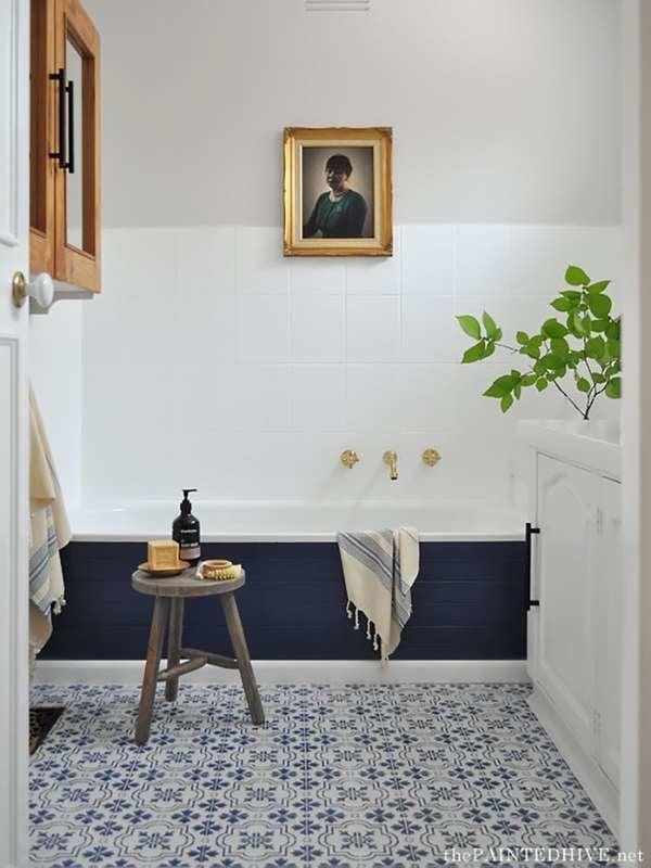 10 Bathroom Improvements That Only Took Paint Bob Vila,Kitchen Cupboard Organizers