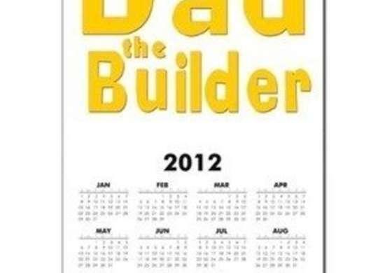 Dad The Builder Calendar