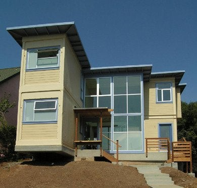 Leger wanaselja architecture container house exterior via smallhousebliss rev