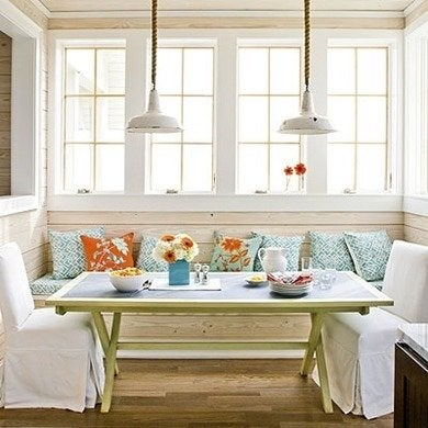 Kitchen banquette seating elementsofstyleblog
