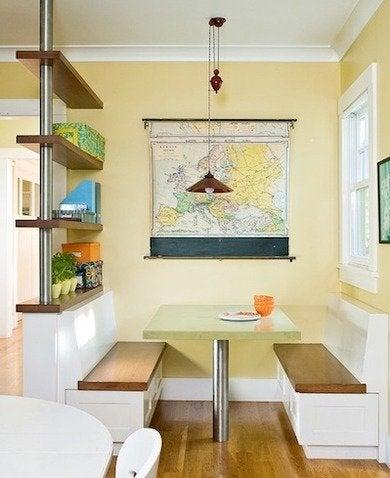 Built in kitchen banquette ideas bhg2