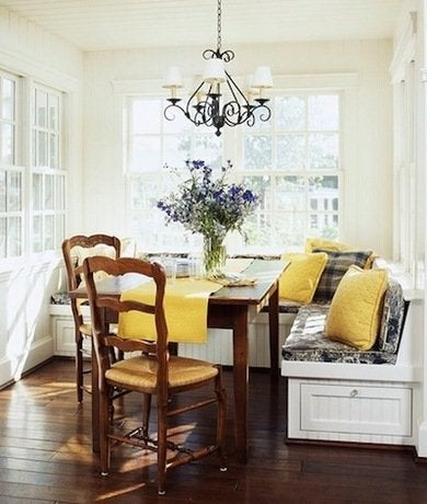 Alcove kitchen banquette traditionalhome